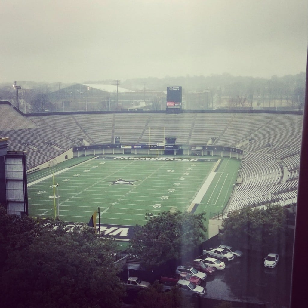 Vanderbilt Stadium | No Thanks to Cake