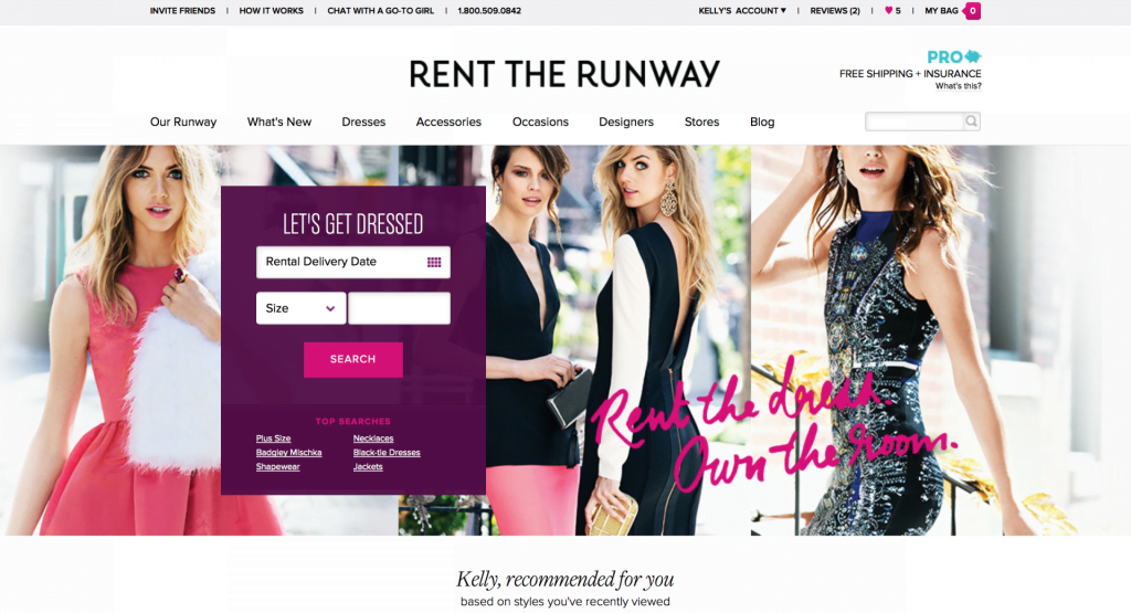 Rent the Runway | No Thanks to Cake