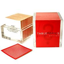 Table Topics | No Thanks to Cake