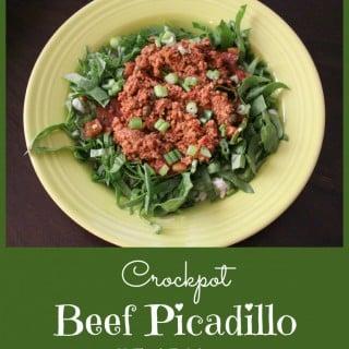 Crockpot Beef Picadillo