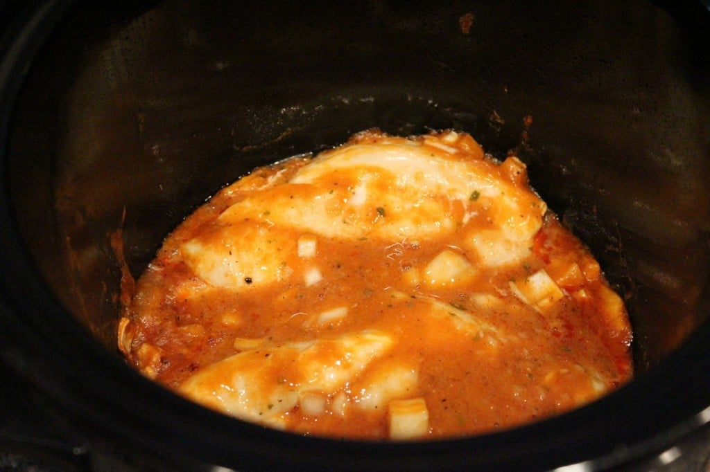 Crockpot Buffalo Chicken | No Thanks to Cake