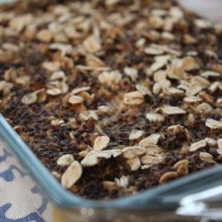 Quinoa PB2 Breakfast Bake