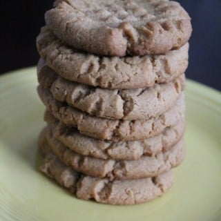 Old Fashioned Peanut Butter Cookies | No Thanks to Cake