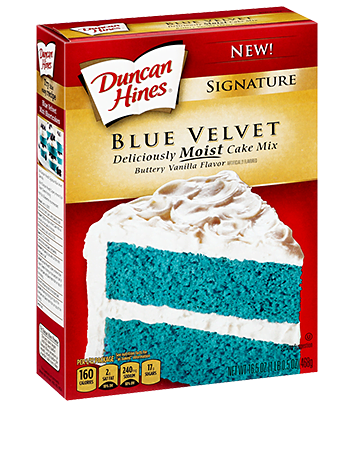 Blue Velvet Cake | No Thanks to Cake