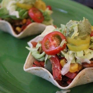 Jenny Craig Recipe Creation: Chicken Fajita Tostada Cups