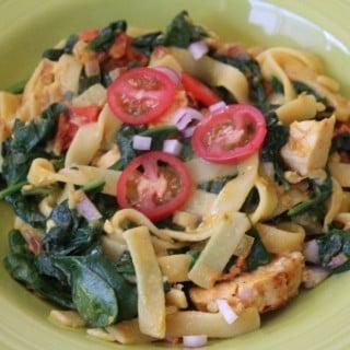 Jenny Craig Recipe Creation: Indian-Spiced Chicken Fettuccine