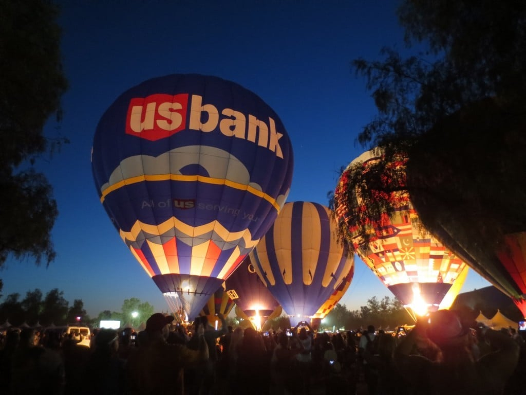 Temecula Balloon and Wine Festival | No Thanks to Cake