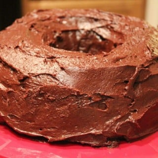 Amazing Chocolate Yellow Cake