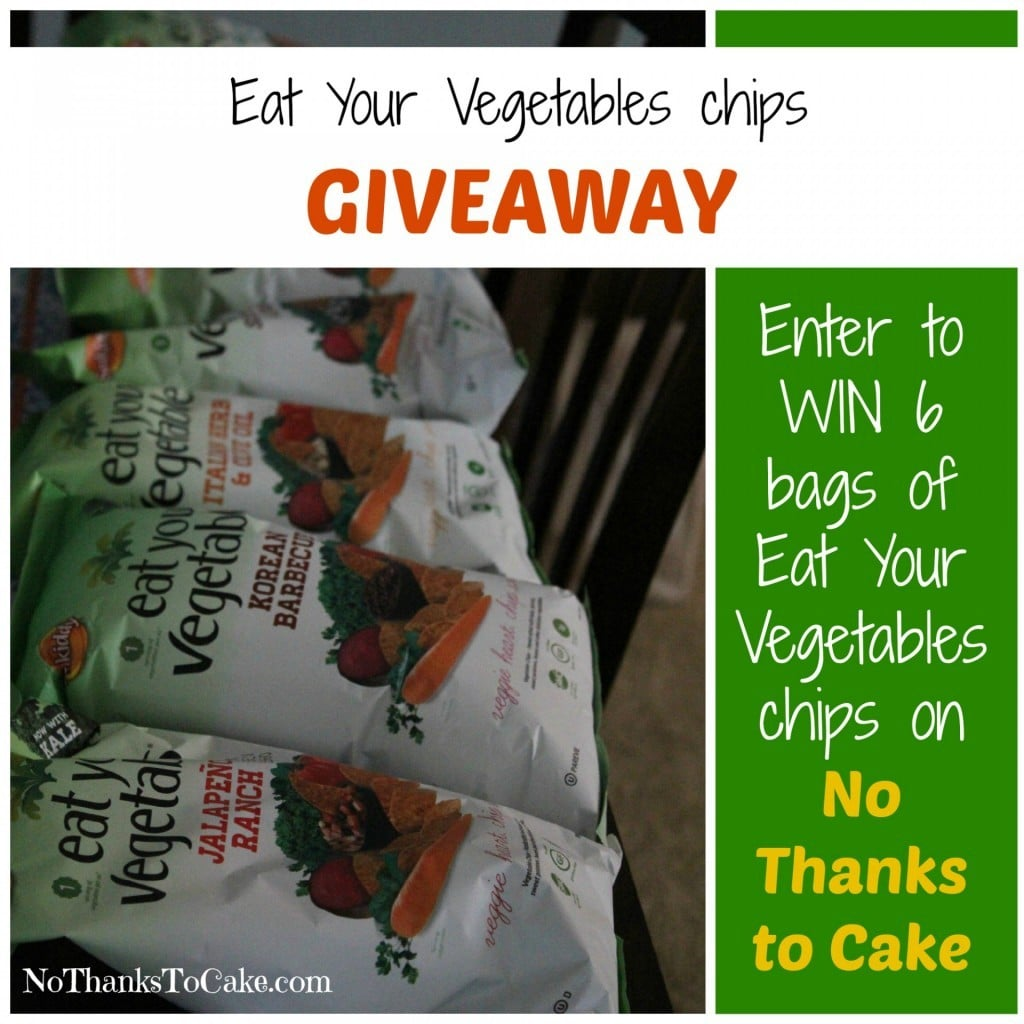 Eat Your Vegetables Chips Giveaway