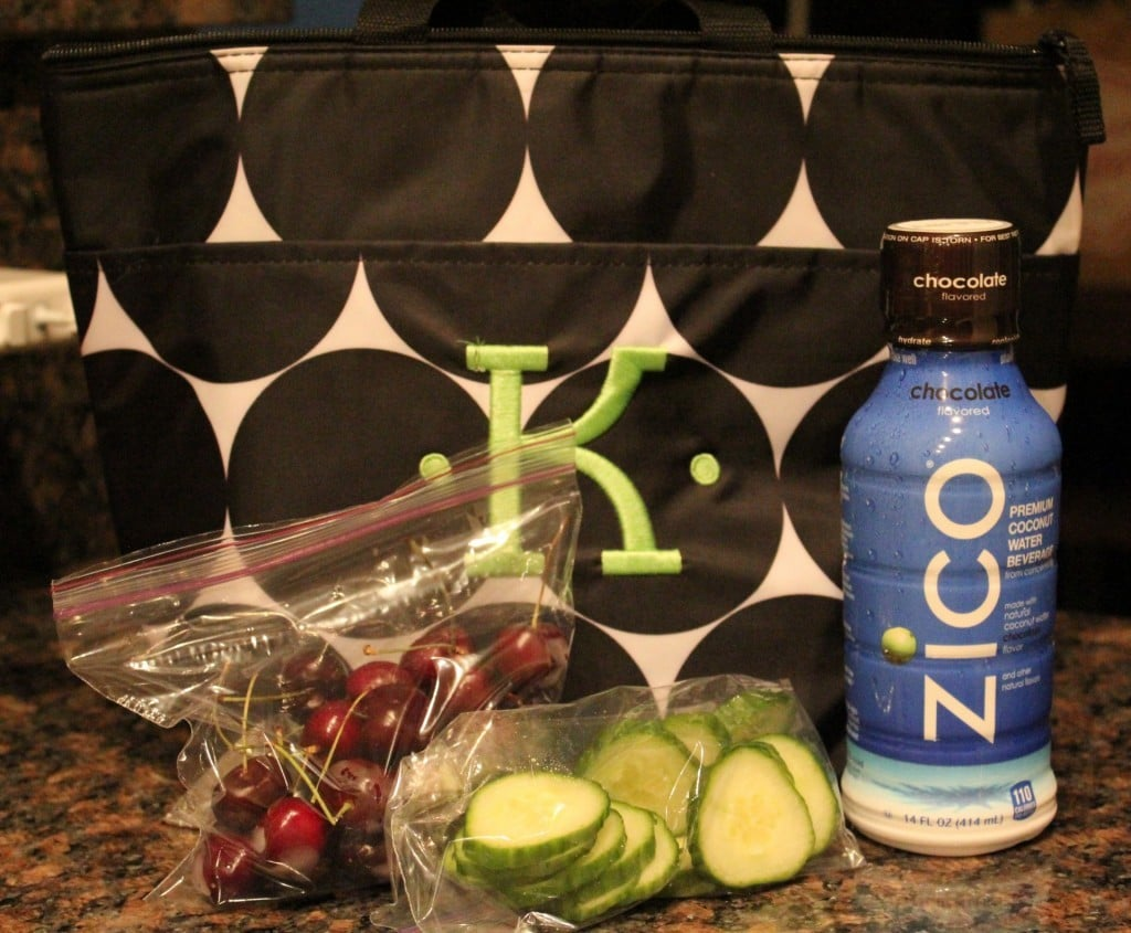Zico Coconut Water Lunch | No Thanks to Cake