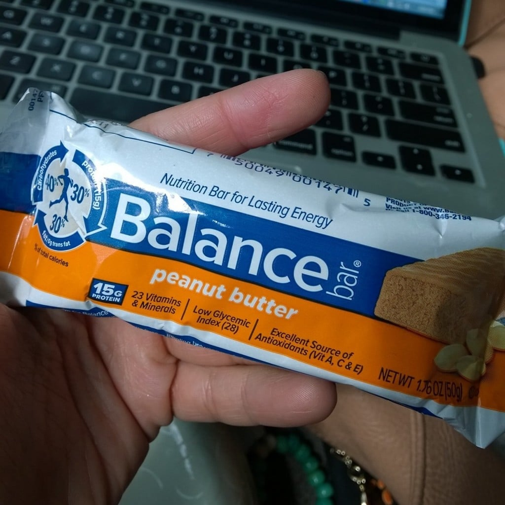 Peanut Butter Balance Bar | No Thanks to Cake