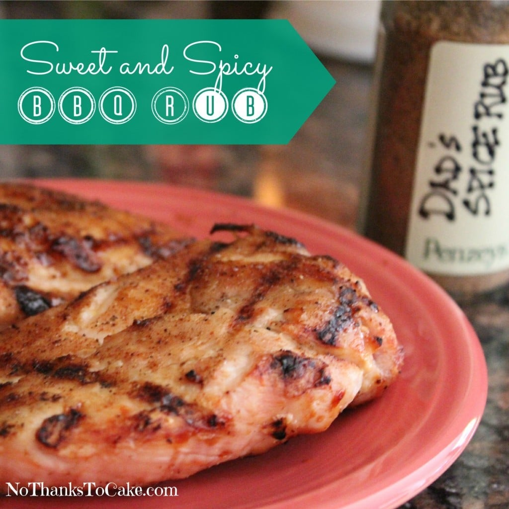 Sweet and Spicy BBQ Rub | No Thanks to Cake