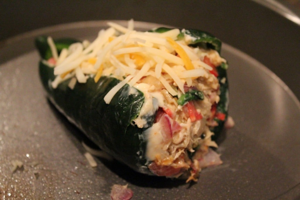 Stuffed Poblano Peppers | No Thanks to Cake