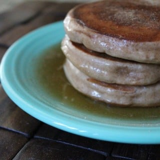 Snickerdoodle Pancakes | No Thanks to Cake
