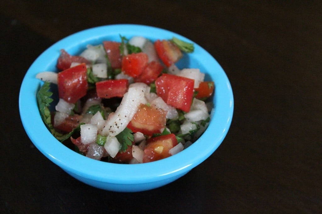 Easy Pico de Gallo | No Thanks to Cake