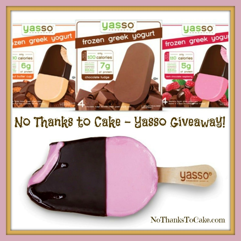 Yasso Giveaway | No Thanks to Cake