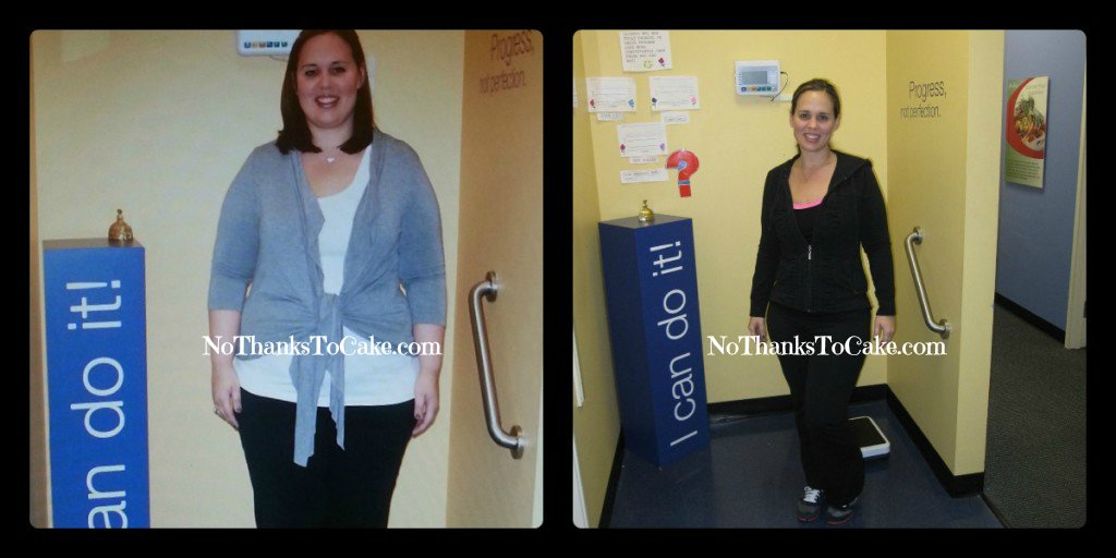 Jenny Craig Progress Pictures | No Thanks to Cake