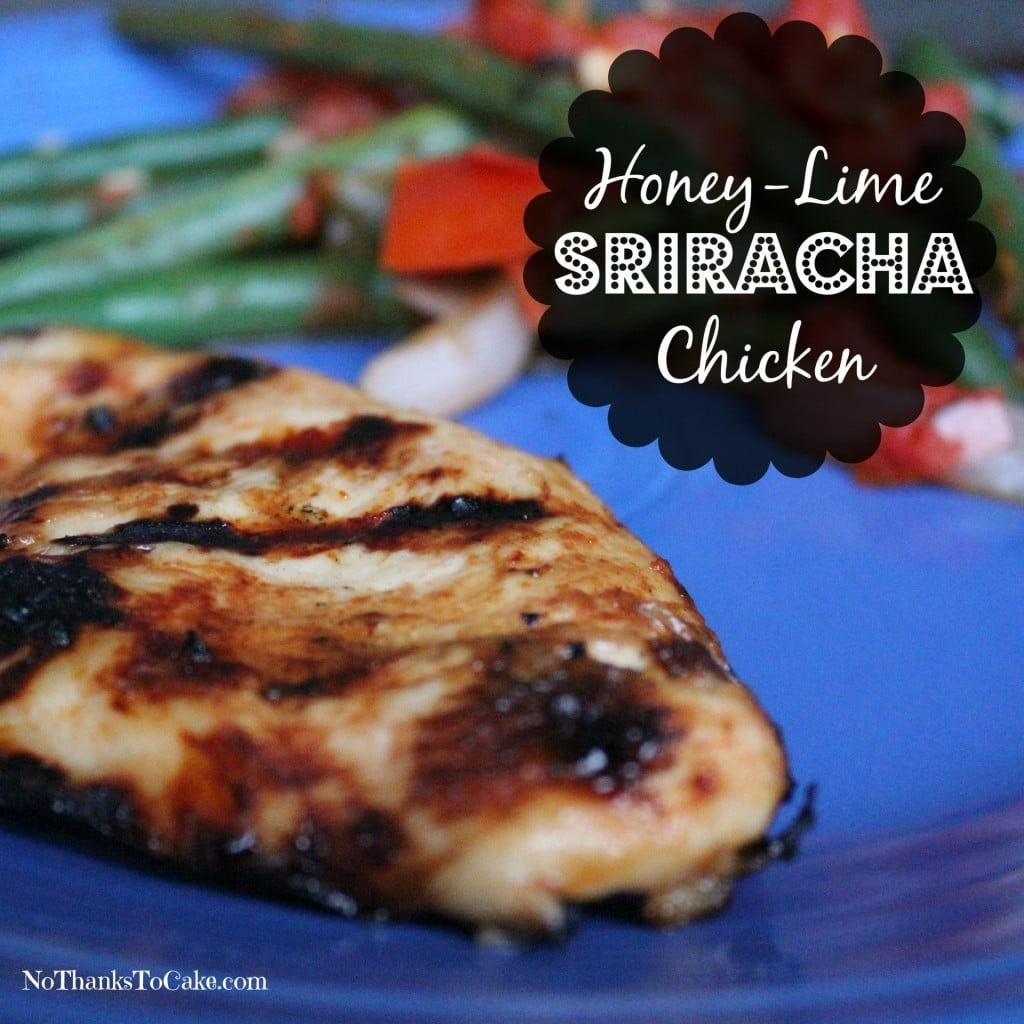 Honey Lime Sriracha Chicken | No Thanks to Cake