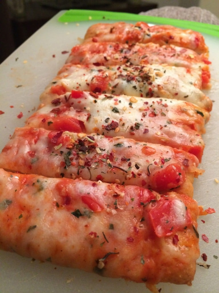 Jenny Craig Margherita Pizza | No Thanks to Cake