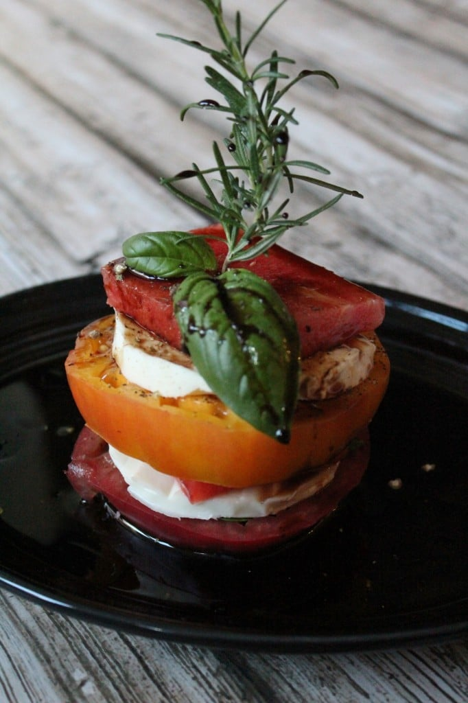 Watermelon Caprese | No Thanks to Cake