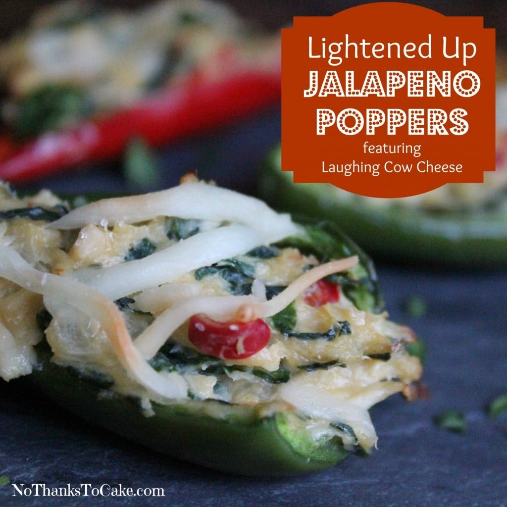 Lightened Up Jalapeño Poppers | No Thanks to Cake