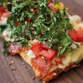 Jenny Craig Recipe Creation: Pepperoni Pizza Fantastico