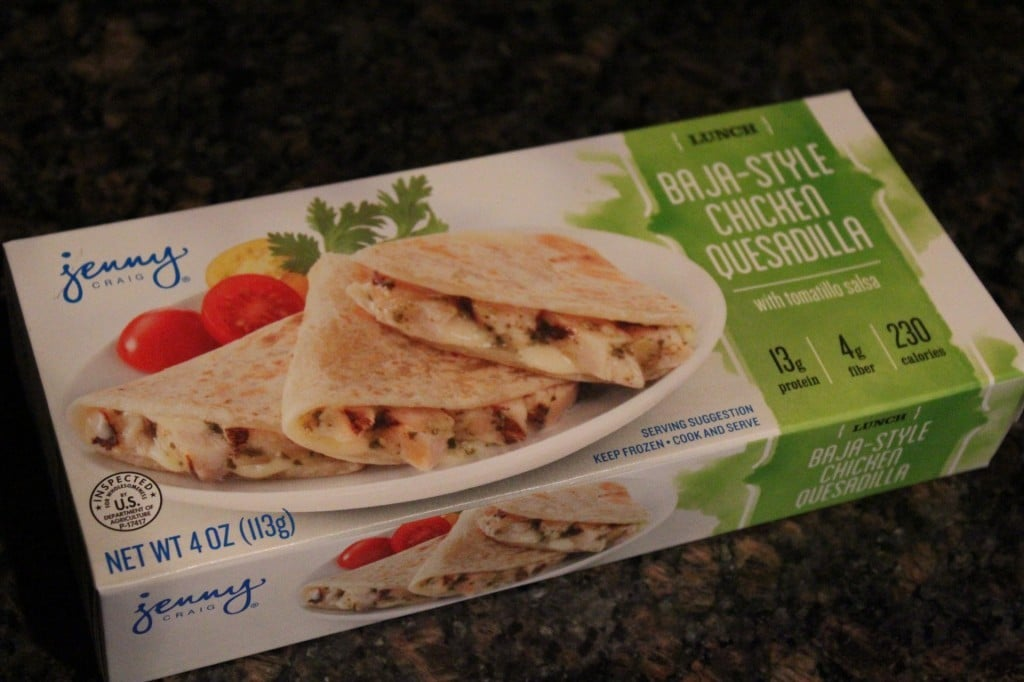 Jenny Craig Volumizing Cheesy Chicken Fajita Quesadilla | No Thanks to Cake