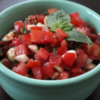 Caprese Salsa | No Thanks to Cake