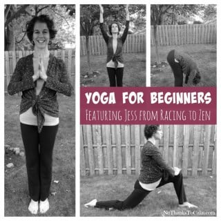 Yoga for Beginners Racing to Zen | No Thanks to Cake