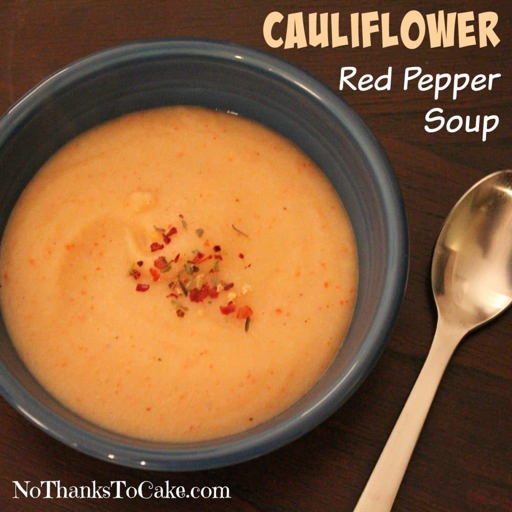 Cauliflower Red Pepper Soup
