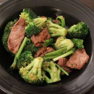 Mongolian Beef and Broccoli