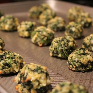 Spinach-Cheese Balls Appetizers