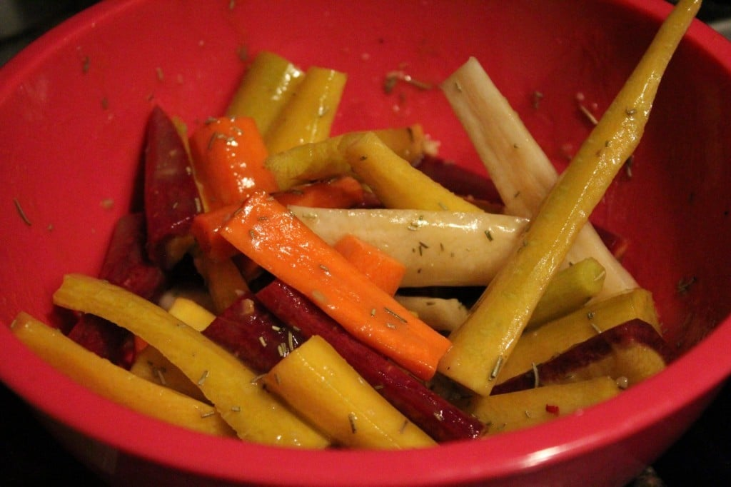 Roasted Carrots with Honey Mustard Glaze | No Thanks to Cake