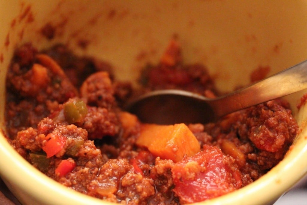 Smoky Bacon Chili | No Thanks to Cake