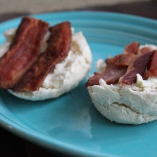 Cheesy Bacon Breakfast Biscuits | No Thanks to Cake