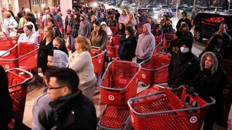 Target Black Friday | No Thanks to Cake