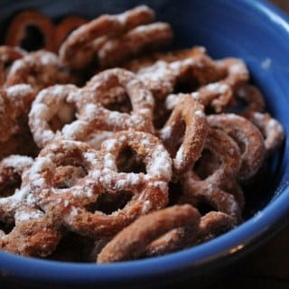 Churro Pretzels | No Thanks to Cake