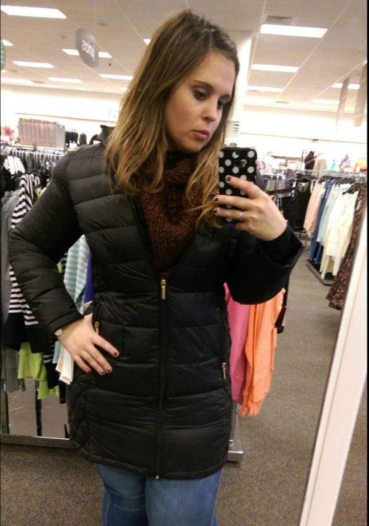 Michael Kors Black Puffer Coat | No Thanks to Cake