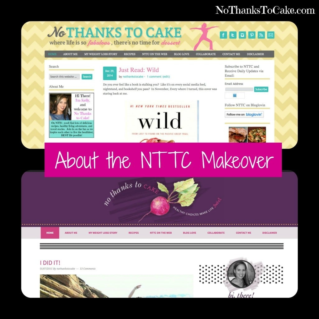About the NTTC Makeover | No Thanks to Cake