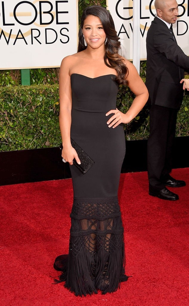 Gina Martinez Golden Globes | No Thanks to Cake