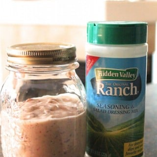 Light Chipotle Ranch Dressing