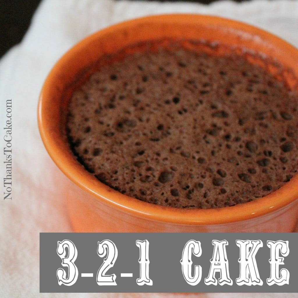 321 Cake | No Thanks to Cake