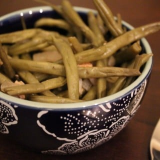 Crockpot Skinny Southern Green Beans