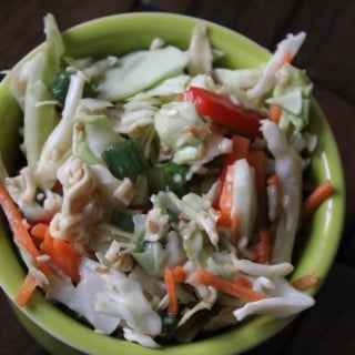 Healthy Asian Ramen Salad | No Thanks to Cake