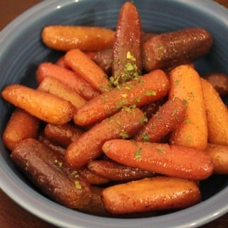 Slow Cooker Honey Roasted Carrots