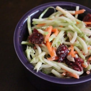 Cranberry Broccoli Slaw