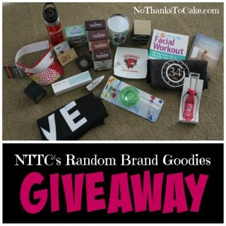 NTTC's Random Brands Goodies Giveaway | No Thanks to Cake