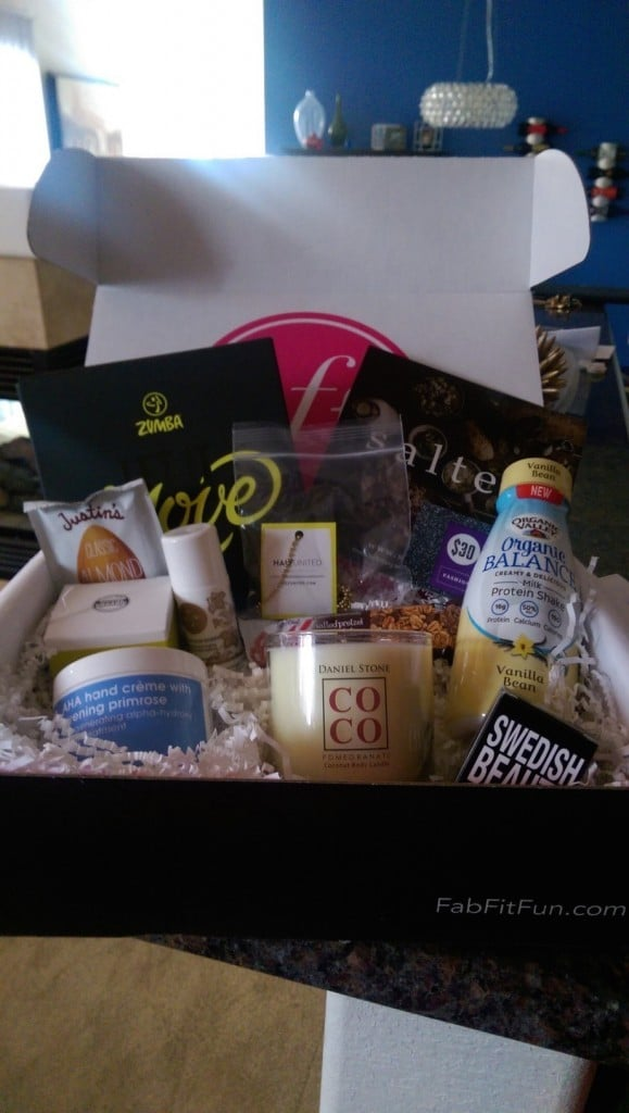Fit Fab Fun Subscription Box | No Thanks to Cake