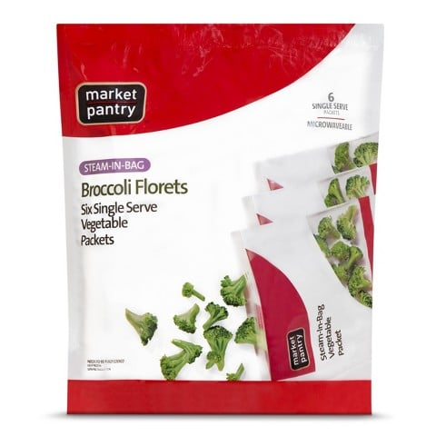 Market Pantry Single Serving Broccoli | No Thanks to Cake