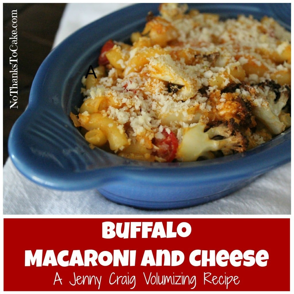 Jenny Volumizing: Buffalo Macaroni and Cheese | No Thanks to Cake